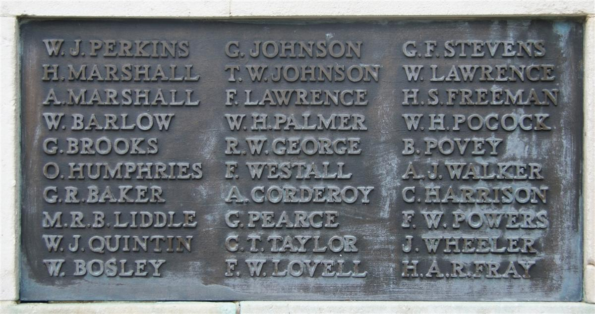 John Wheeler's name on Newbury War Memorial - but which John Wheeler?