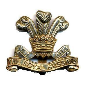 10th Hussars cap badge