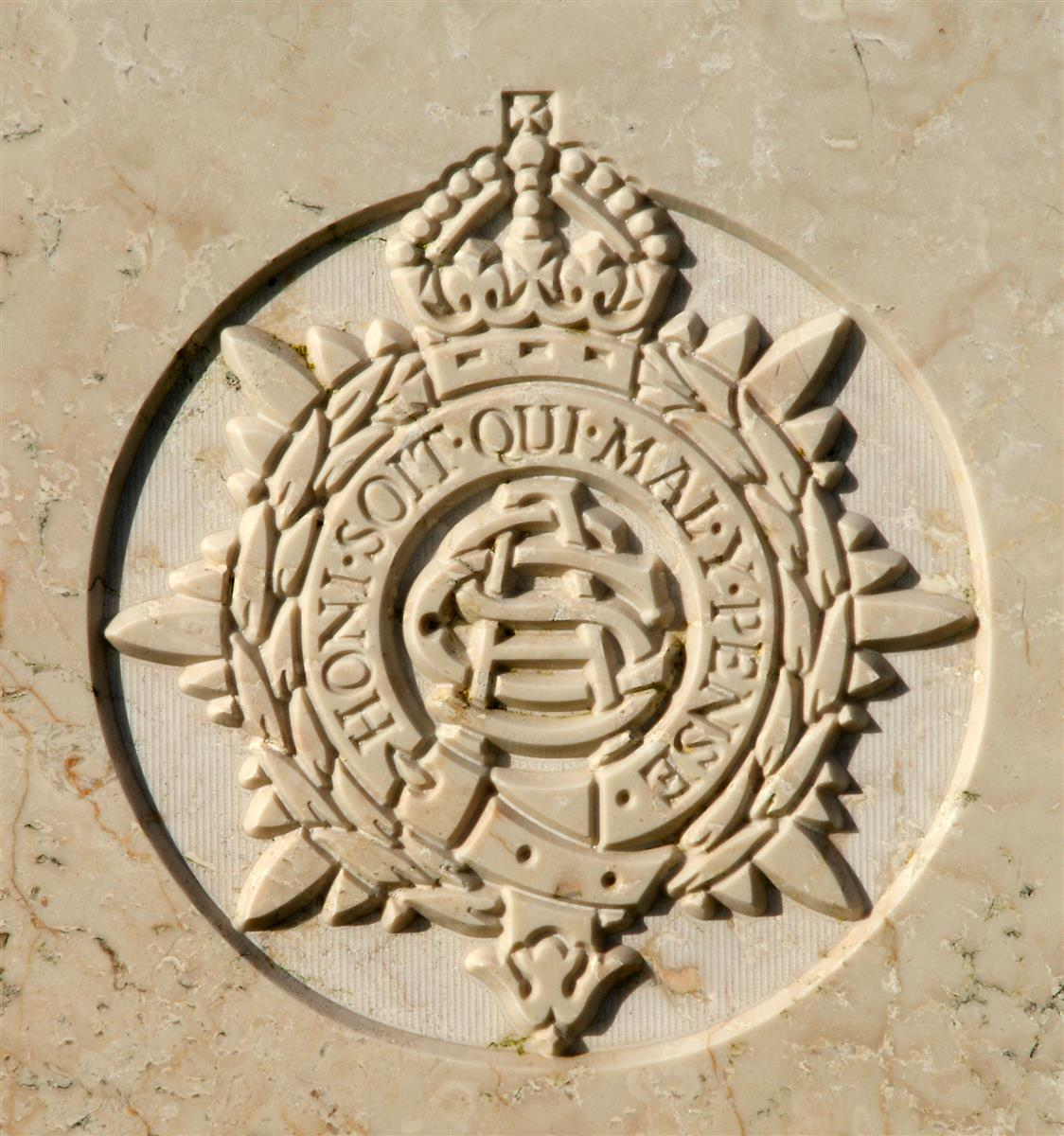Army Service Corps badge