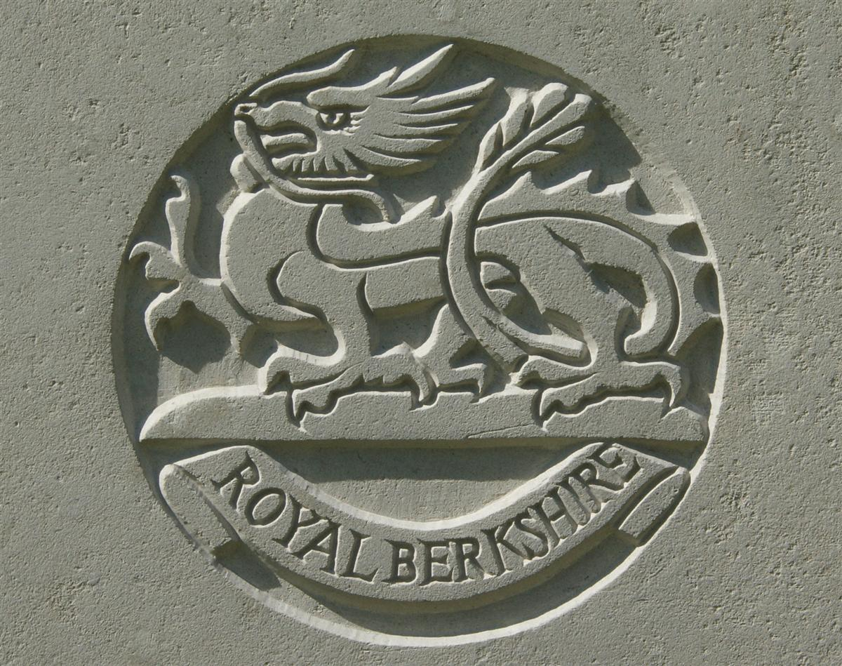 Berkshire Regiment badge