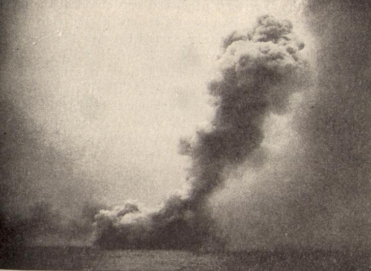 Destruction of HMS Queen Mary