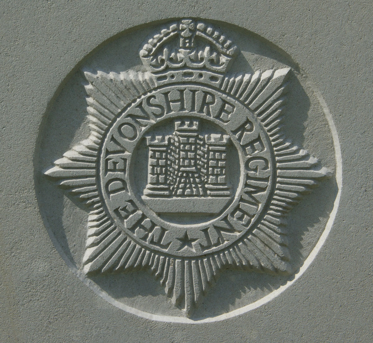 Devonshire Regiment badge