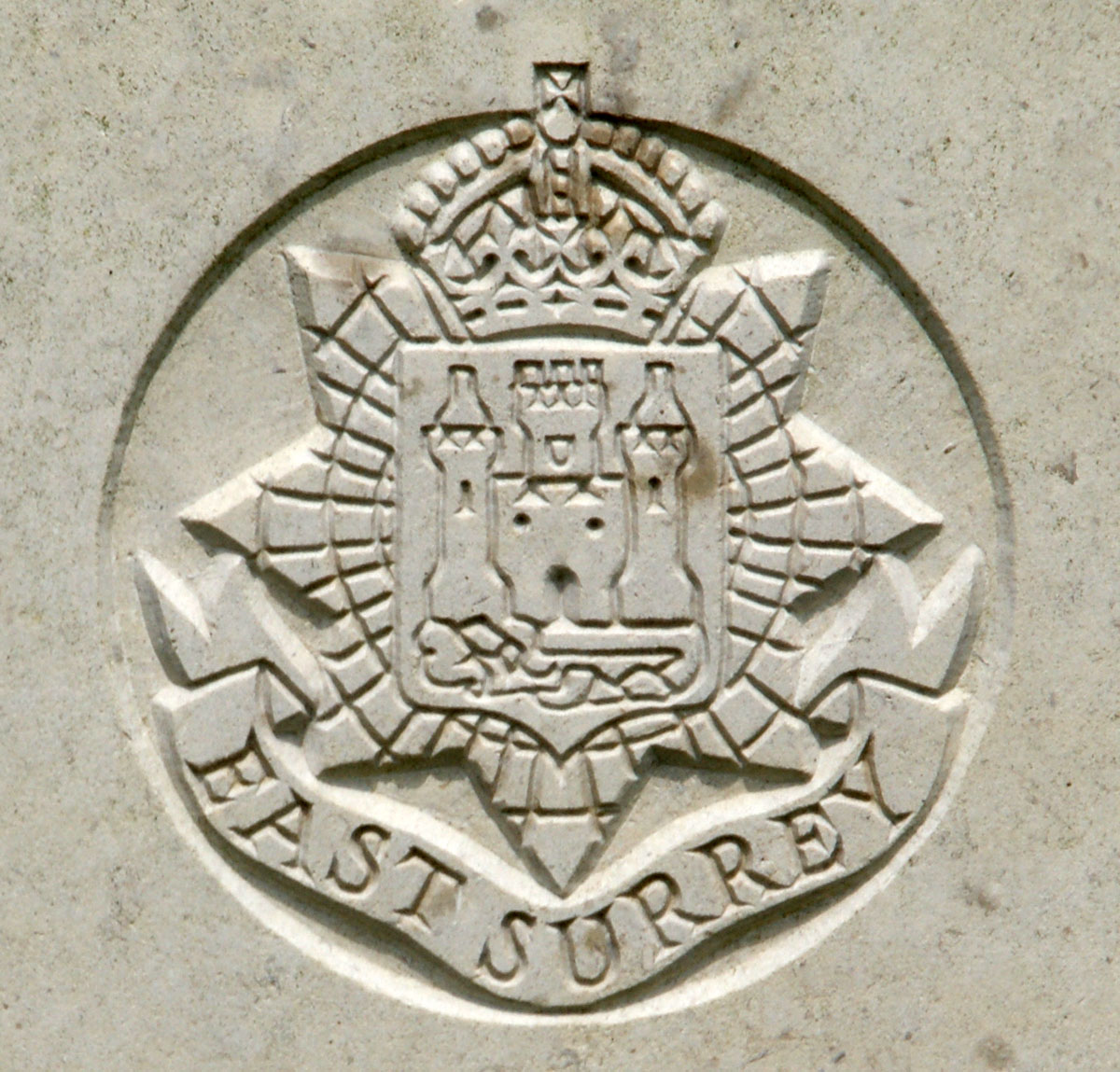 East Surrey Regiment badge
