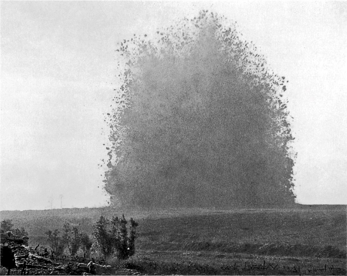 Hawthorn Ridge mine 1 July 1916