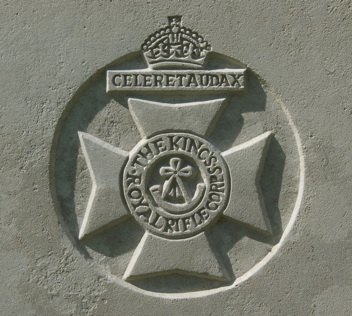 Kings Royal Rifle Corps badge