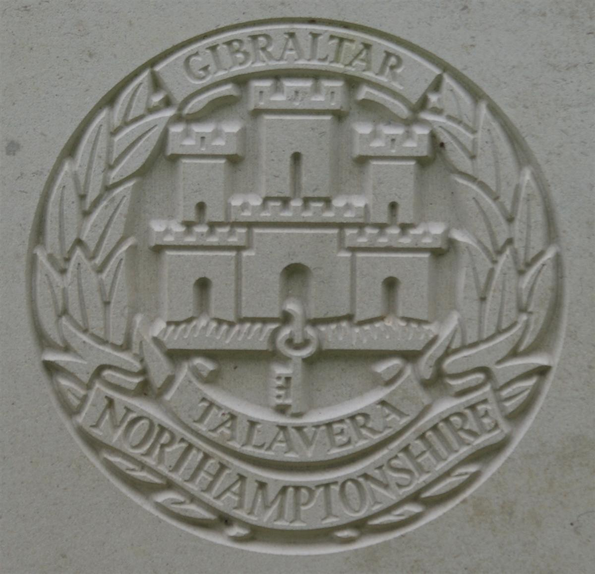 Northamptonshire Regiment badge