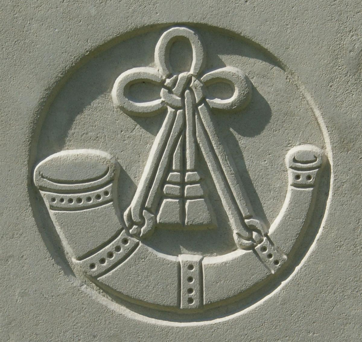 Ox & Bucks Light Infantry badge