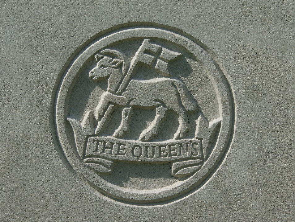 Queens Regiment badge