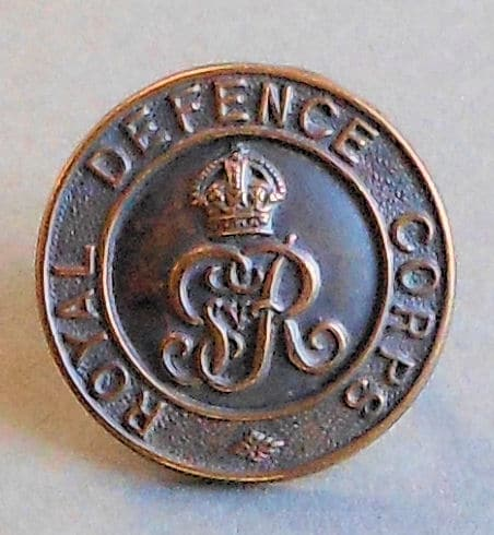 Royal Defence Corps cap badge