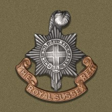 Royal Sussex Regiment badge