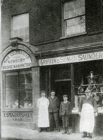 Griffin's shop in 1919