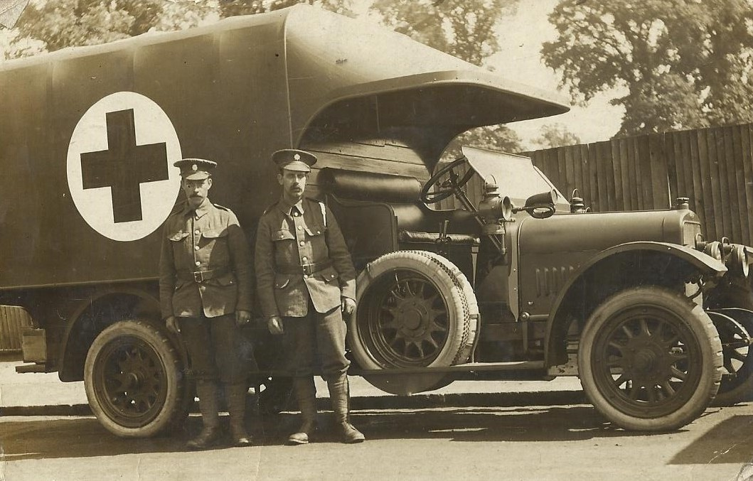 WW1 Motor Ambulance