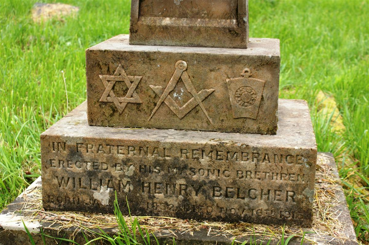 William Belcher's grave