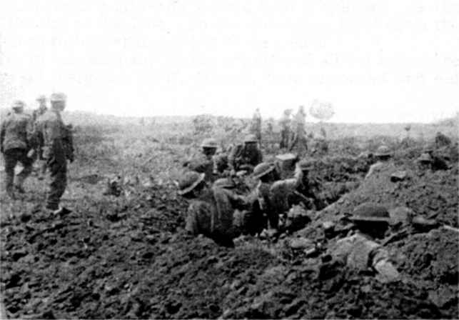 3rd Worcesters at Messines