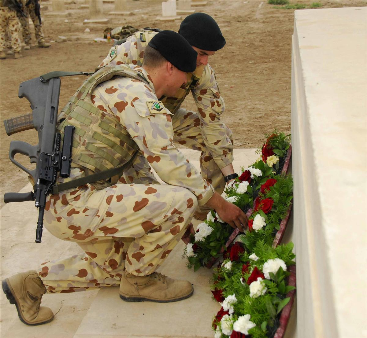 ANZAC Day Ceremony, Baghdad, 2009