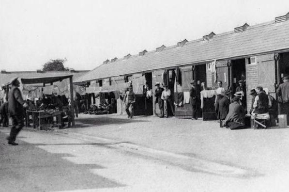 Newbury Internement Camp 1914