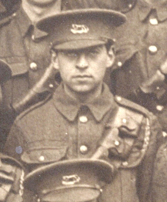 Believed to be Algernon Freeman from a photograph of A Squadron, Berkshire Yeomanry