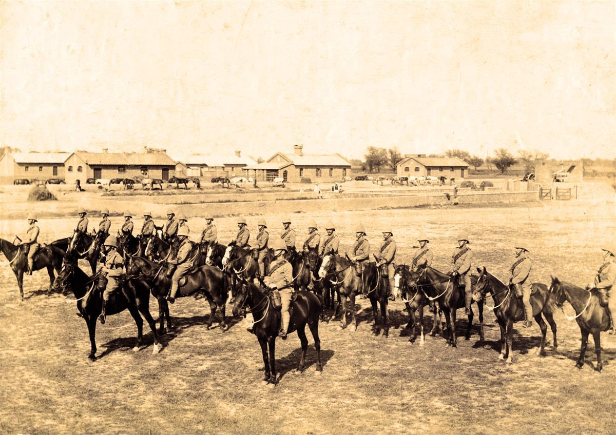 Cameronian mounted infantry
