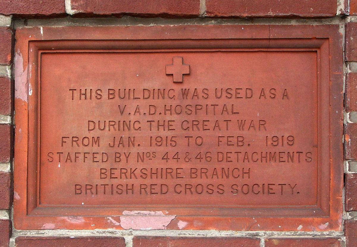 Albion House plaque